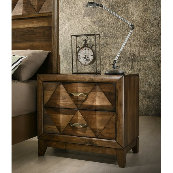 Fegan 2 Drawer Nightstand by Brayden Studio