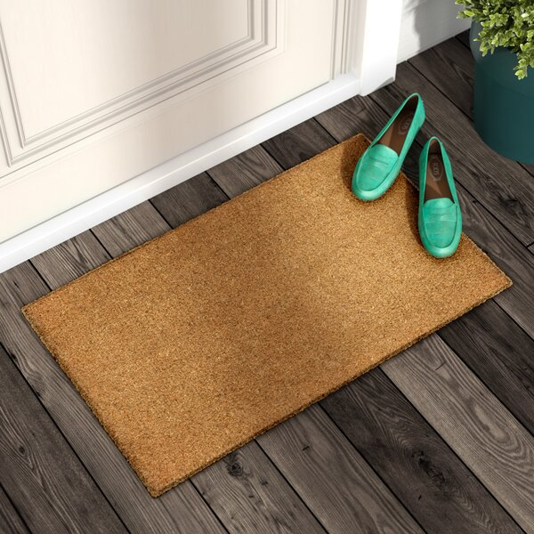 Galentine Plain Doormat by Andover Mills