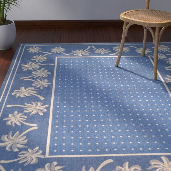 Romola Blue/ Indoor/Outdoor Rug by Highland Dunes