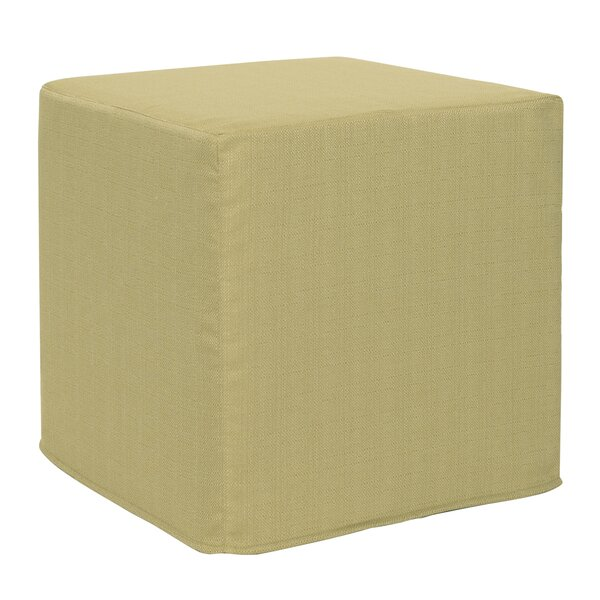 Contreras Sterling Cube Ottoman by Latitude Run