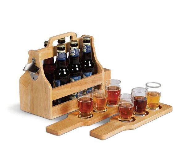 Brew Fest 6 Bottle Tabletop Wine Rack by Picnic Plus