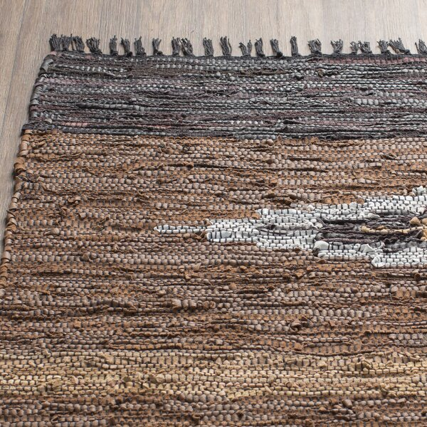 Matador Hand Woven Brown Area Rug by St. Croix
