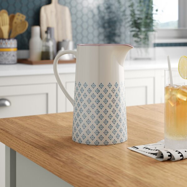 Britz Ceramic Pitcher by Mint Pantry