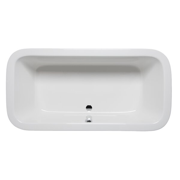 Nerissa 72 x 36 Drop in Soaking Bathtub by Americh
