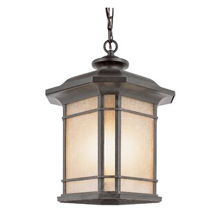 Newbury 3-Light Outdoor Hanging Lantern By Loon Peak Outdoor Lighting