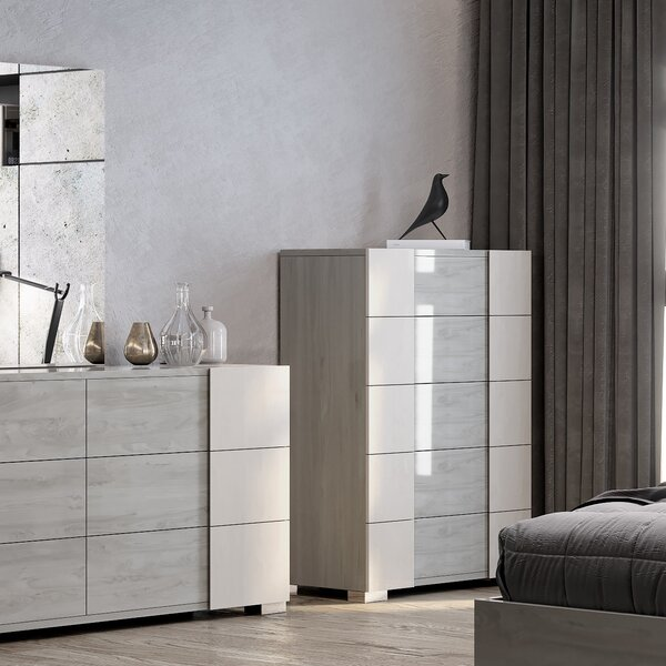 Gerlak 5 Drawer Chest by Orren Ellis
