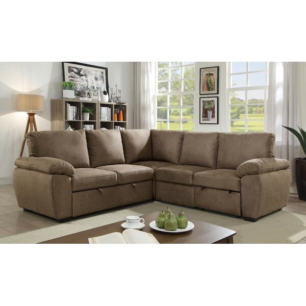 Lafave Symmetrical Sleeper Sectional By Red Barrel Studio