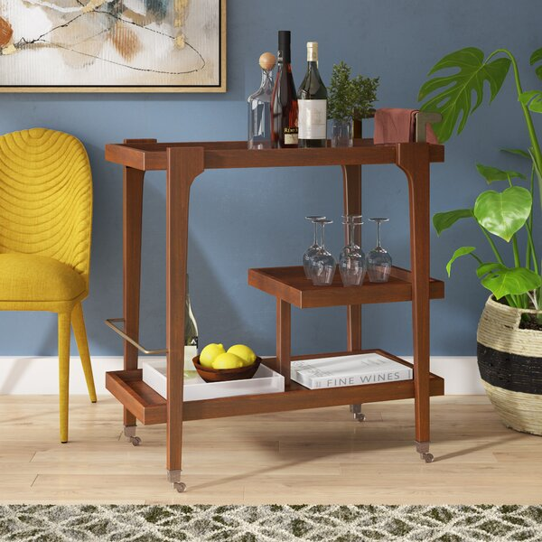 Clarity Bar Cart by Langley Street
