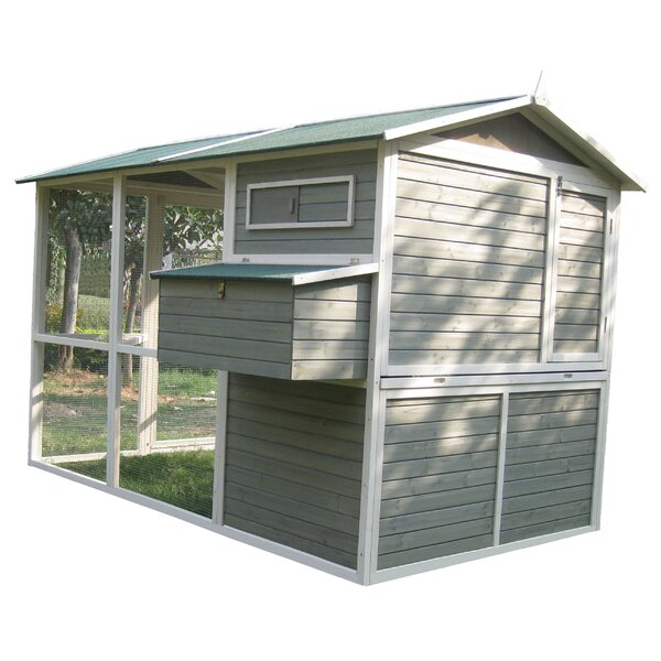 Coops and Feathers™ Extreme Walk-In Hen Coop by