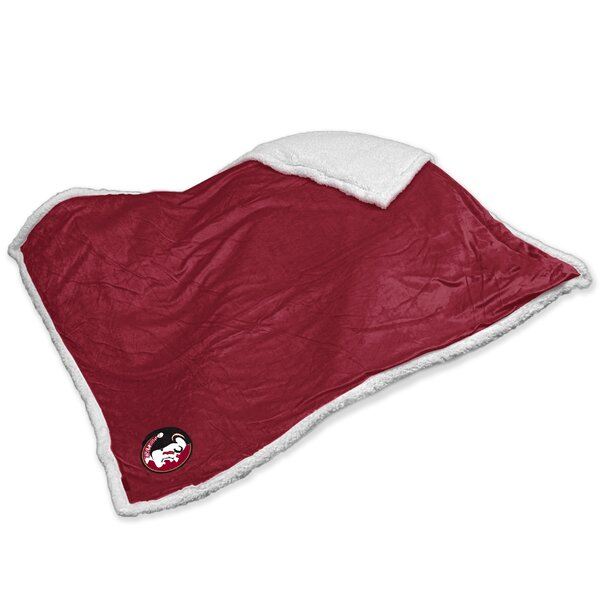 NCAA Team Sherpa Throw by Logo Brands