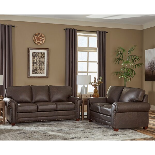 Lexus 2 Piece Leather Sleeper Living Room Set by 17 Stories 17 Stories
