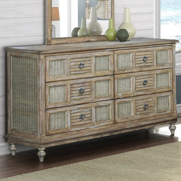 Mathews 6 Drawer Dresser by Bayou Breeze
