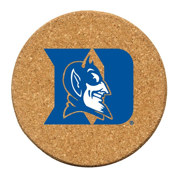 Duke University Cork Collegiate Coaster Set (Set of 6) by Thirstystone