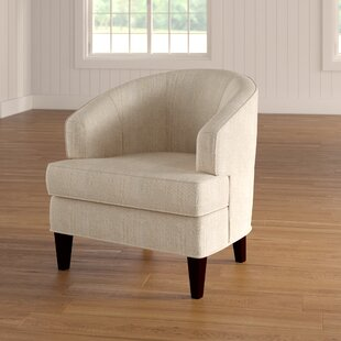 Compare & Buy Crescent Barrel Chair by Red Barrel Studio