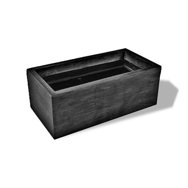 Resin Stone Planter Box by Amedeo Design