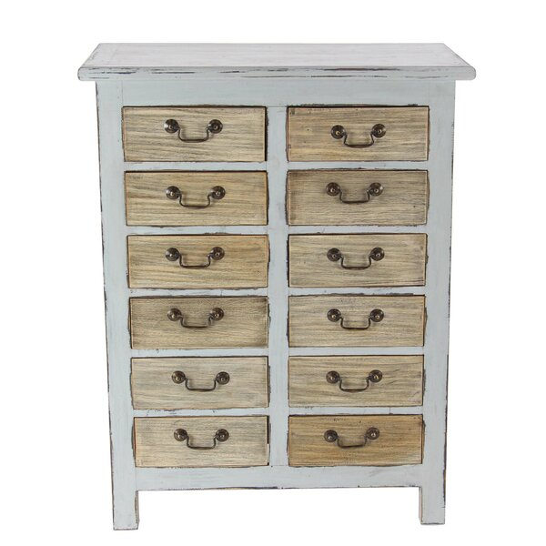 Bucksport 12 Drawer Accent Chest by Rosecliff Heights