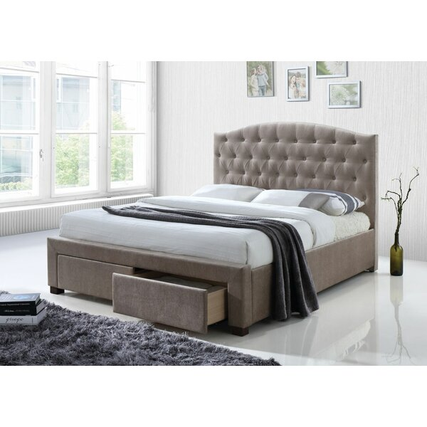 Crader Upholstered Storage Platform Bed by Darby Home Co
