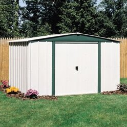 Hamlet 8 ft. W x 6 ft. D Metal Storage Shed by Arrow