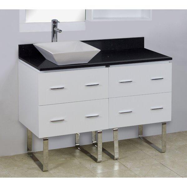 48 Single Modern Bathroom Vanity Set