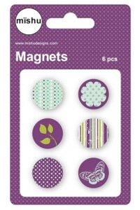Color Magnet (Set of 6) by Mishu Designs