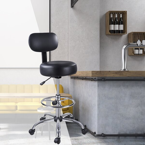 Height Adjustable Active Stool with Wheel