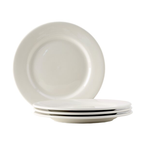 Reno 7 Wide Rim Salad Plate (Set of 4) by Tuxton Home