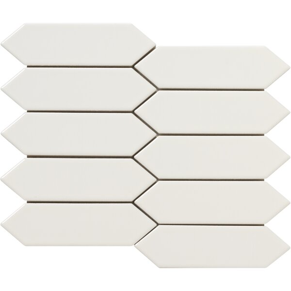 Elixir 2 x 4 Porcelain Mosaic Tile in Bone by Emser Tile