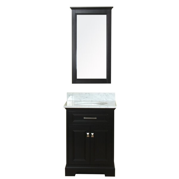 Coston 25 Single Bathroom Vanity Set with Mirror by Red Barrel Studio