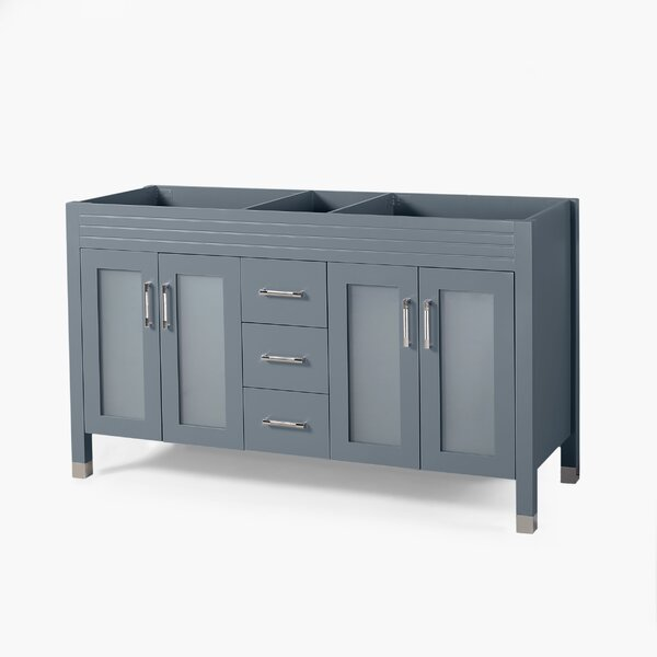 Will Isaiah 60 Double Bathroom Vanity Base Only