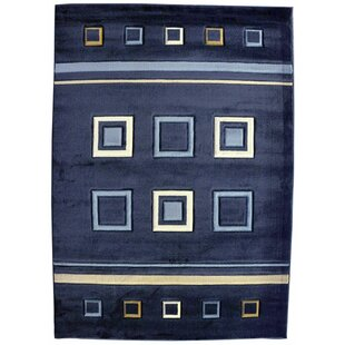 Searching for Font Dark Area Rug By Ebern Designs