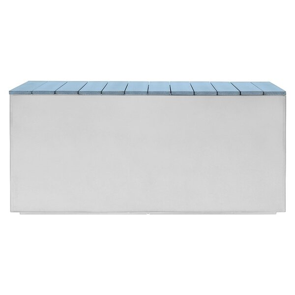 Aluminum Planter Bench by Nice Planter