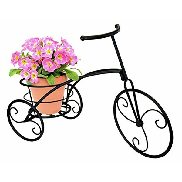 Single Flower Bicycle Plant Stand by Sorbus