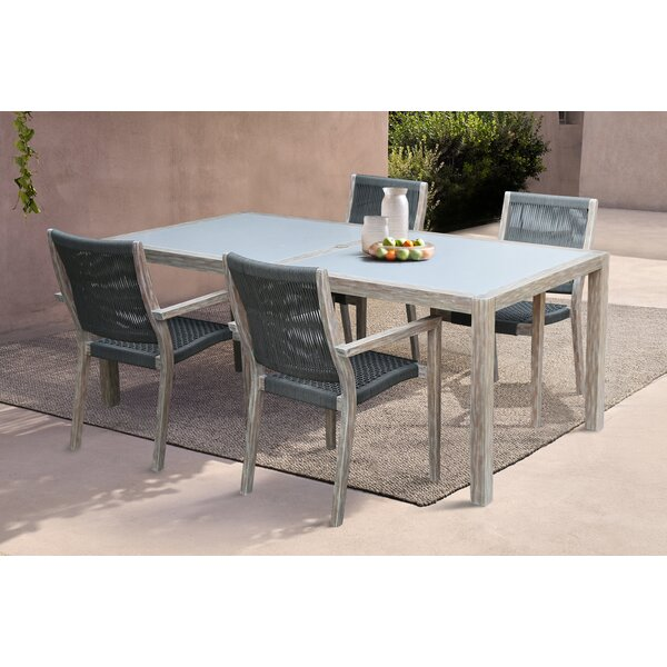 Troxel 5 Piece Dining Set by Foundry Select