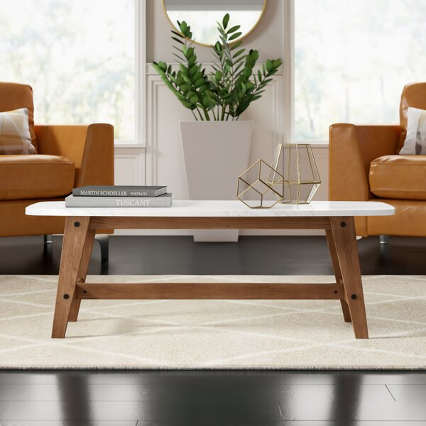 Posner Trestle Coffee Table by Mercury Row Mercury Row