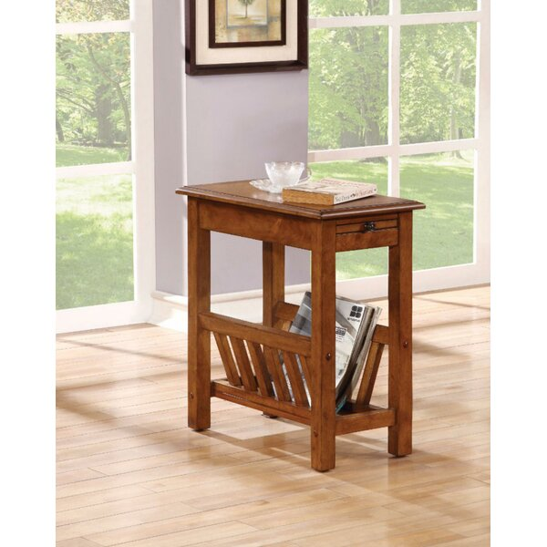 Hodgin End Table With Storage By August Grove
