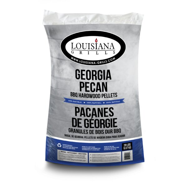 All Natural Hardwood Pellets - Georgia Pecan by Louisiana Grills