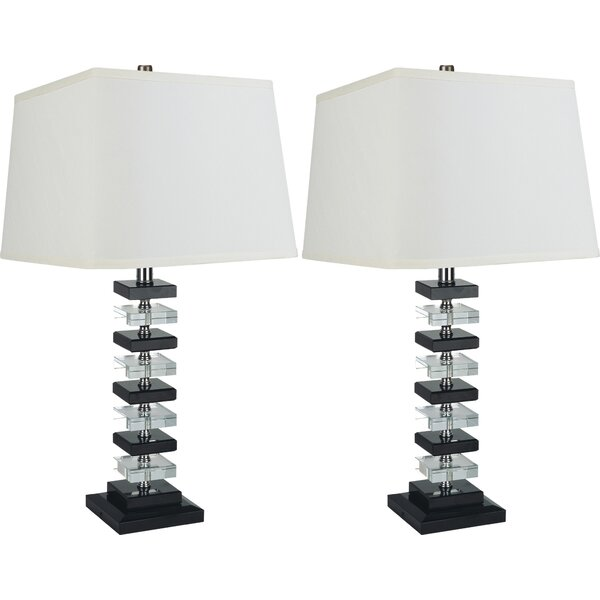 Tower 26 Table Lamp (Set of 2) by Sintechno