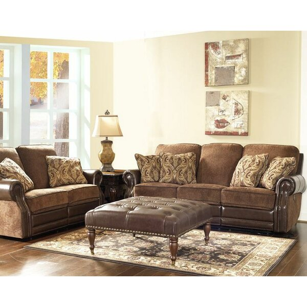 Dashing Eleanor Vintage Power Leather Reclining by Fleur De Lis Living by Fleur De Lis Living