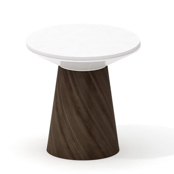 Campfire Turnstone 24.6 Round Paper Table by Steelcase
