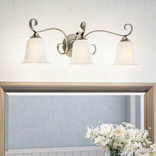 Price comparison Patricia 3-Light Vanity Light By Fleur De Lis Living