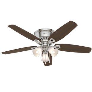 Ceiling fans for low ceilings wayfair 52 builder low profile 5 blade ceiling fan aloadofball Images