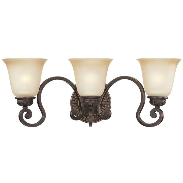 Charlestown 3-Light Vanity Light by Fleur De Lis Living