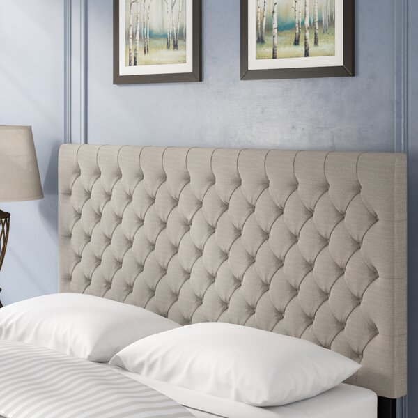 Hallsburg Upholstered Panel Headboard by Greyleigh Greyleigh