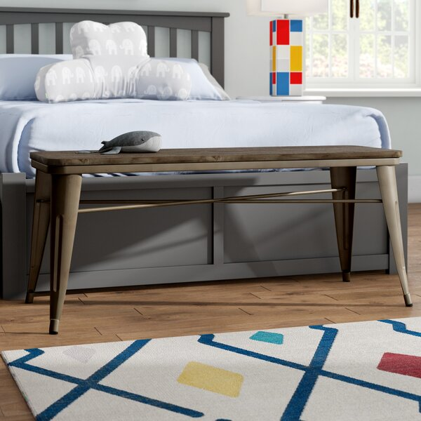 Lecia Metal Dining Bench By Gracie Oaks