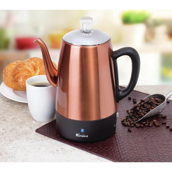 Stovetop Coffee Maker by Euro CuisineStovetop Coffee Maker by Euro Cuisine