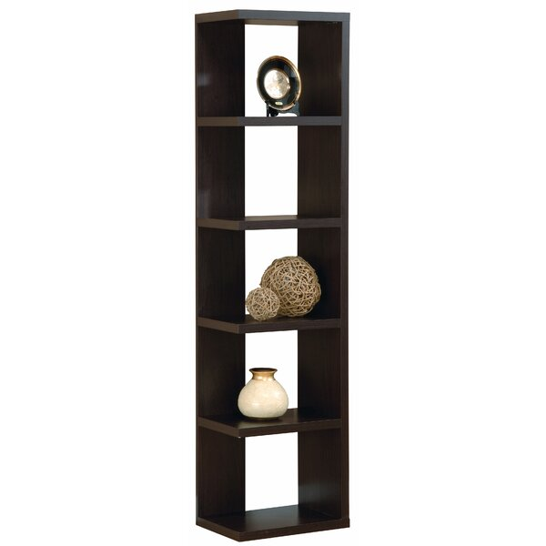 Ianis Creative Office Home Utility Corner Bookcase by Ebern Designs Ebern Designs