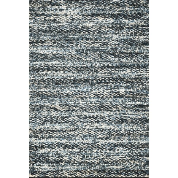 Ambridge Hand-Woven Wool Azure Area Rug by Wade Logan