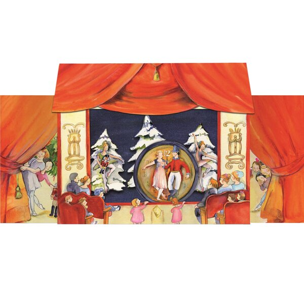 Korsch 3-D Nutcracker Suite Advent Calendar by Alexander Taron