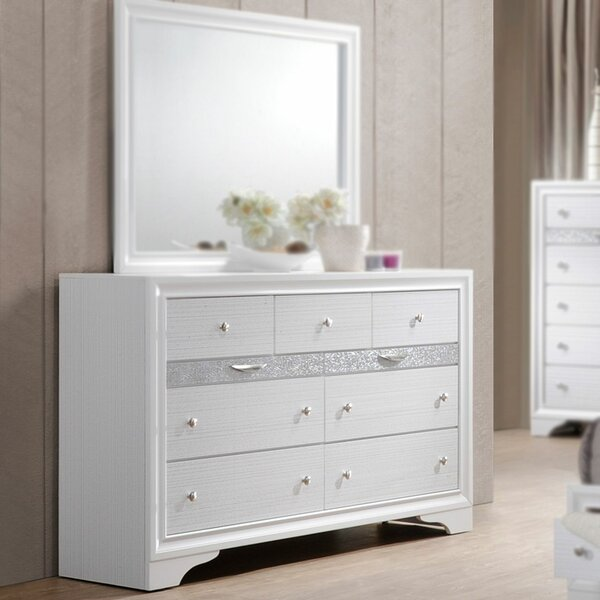 Ines 9 Drawer Double Dresser by House of Hampton