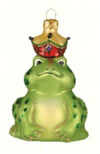 The Frog Prince Hanging Figurine by The Holiday Aisle